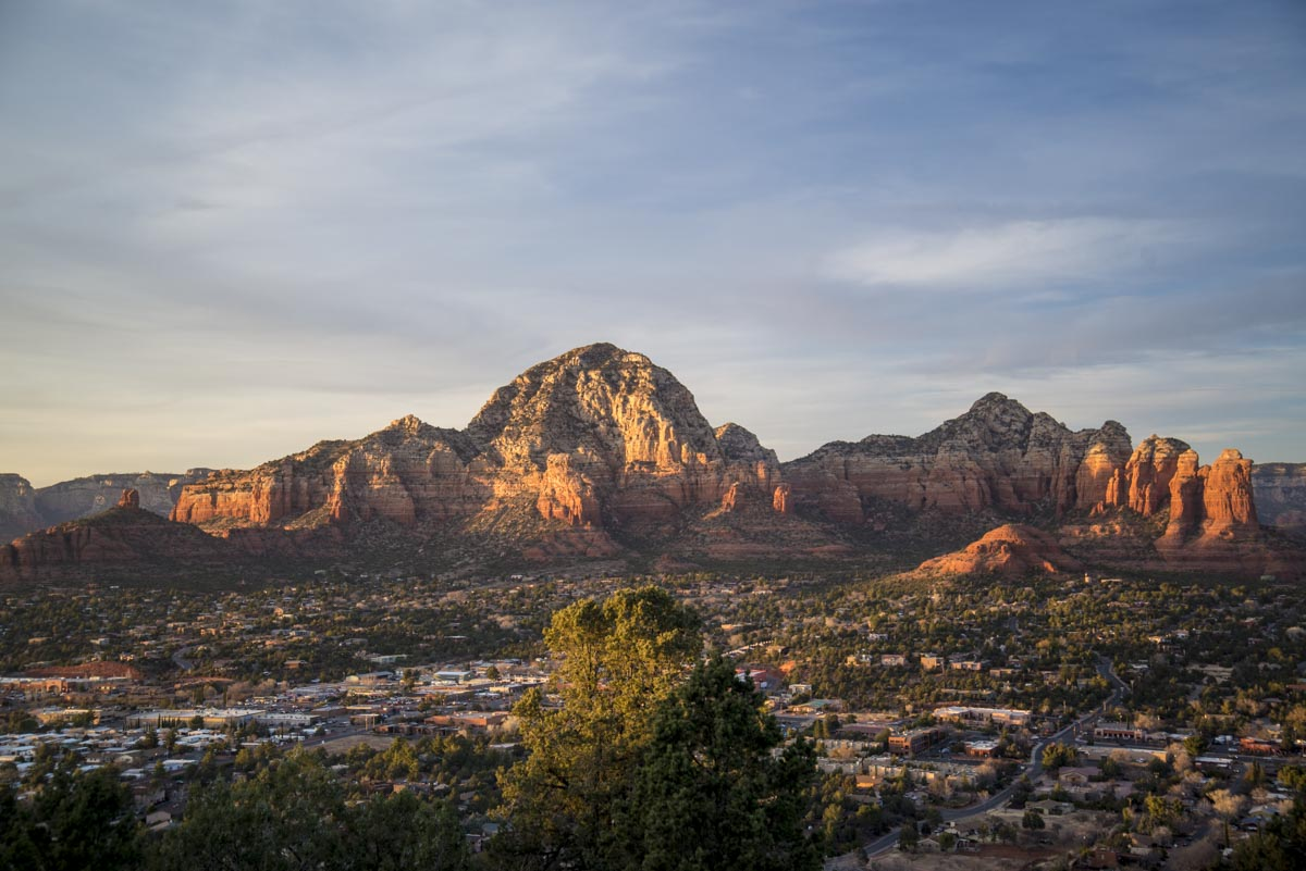 Patty's Epic Trip To The US. Part 11. Sedona Sunset
