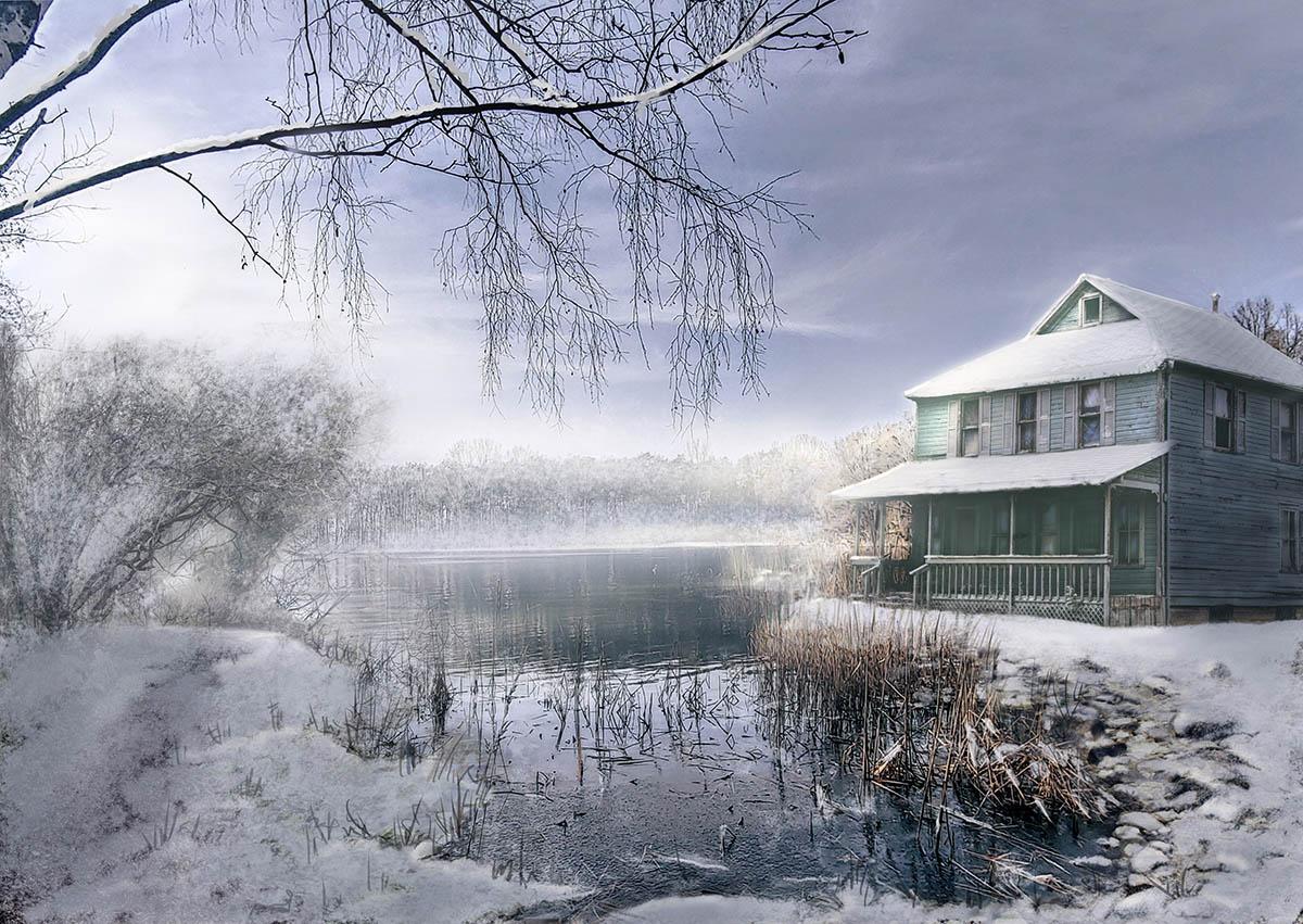 Snow Lake Art